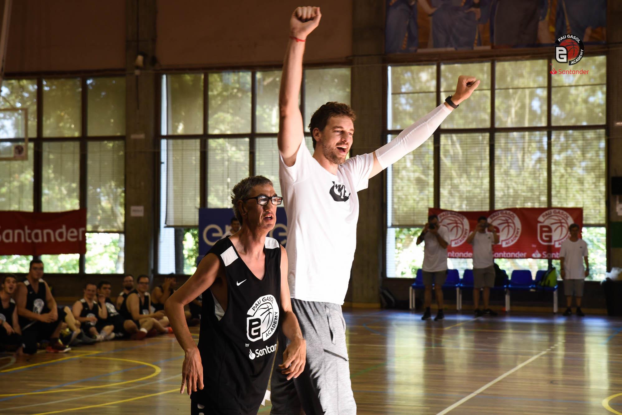 Aniversari Pau Gasol + Partit Jimmy Butler Amb Special Olympics